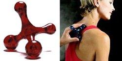Red Original Jacknobber II Muscle Massage Tool
