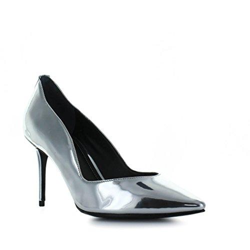 Kendall & Kylie - Zapatos de Vestir de Otra Piel Para Mujer Plateado Plata