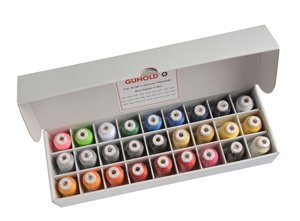 Embroidery Gunold (Gunold® Embroidery Thread Variety Pack - 27/Pack)