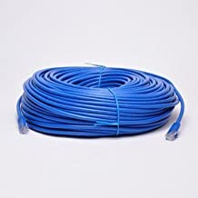 UbiGear New 150ft 50m Blue Rj45 CAT6 23-AWG Ethernet Lan Network Internet Computer Patch Cable