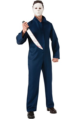 Rubie's Costume Halloween Movie Complete Michael Myers Adult, Blue, X-Large Costume - Michael Myers Costume For Kid