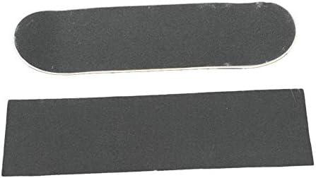 HENGTONGTONGXUN 84 * 23センチメートルスケートボード4ホイールサンドペーパーGriptape耐摩耗性肥厚大型デッキ紙やすりGriptapeのためにスケートボード (色 : Yellow)
