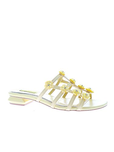 Sandalo Luciano Aa545d Donna Giallo Barachini YUOwq1