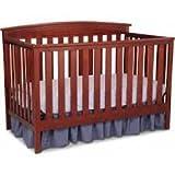 Delta Gateway 4-in-1 Fixed-Side Crib CABERNET