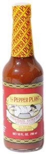 The Pepper Plant Habanero Extra Hot California Style Hot Pepper Sauce 10 ()