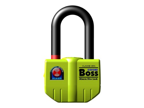 (Oxford OF3 Boss Alarm Disc Lock with 100dB Audible Warning)