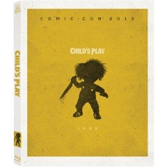 Child's Play with San Diego Comic Con 2013 SDCC Exclusive Limited Edition Packaging Blu-ray