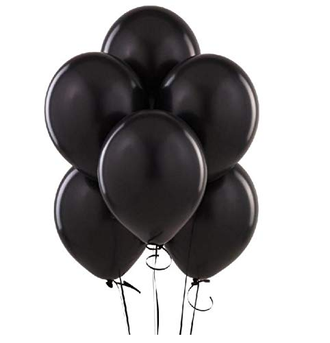 King's deal 12 Inches Ultra Thickness Latex Balloon 100 Count - -