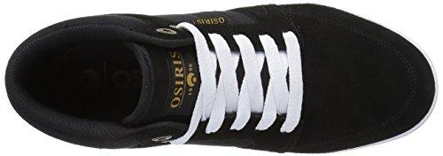 Osiris Mens Helix Skateboarden Schoen Zwart / Zwart / Koper