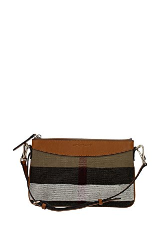 4003965SADDLEBROWN Burberry Clutches Women Fabric Brown