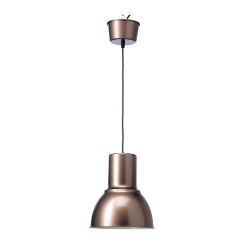 New* HEKTAR Pendant lamp, beige, 22 cm