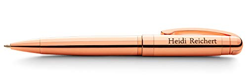 (GiftTree Personalized Luxury Rose Gold Pen | Stylish Executive Business Gift For Her | A Great Gift For Writers, College Students or Colleagues)