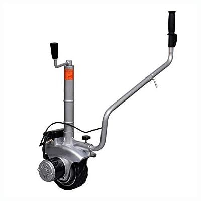 HomyDelight Utility & Trailer, Motorized Wheel Trailer Mover 12 V 350 W