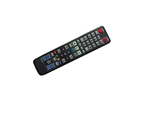 Universa Replacement Remote Control For Samsung BD-P1400/XEE BD-P2550/XAC BD-P1500C/XAA BD-P4610/XEG BD-P2500/XAC BD-P1600A/XEE BD-D5300/ZS BD-D7000/ZC AK5900104U BD 3D Full HD Blu-Ray Disc DVD Player
