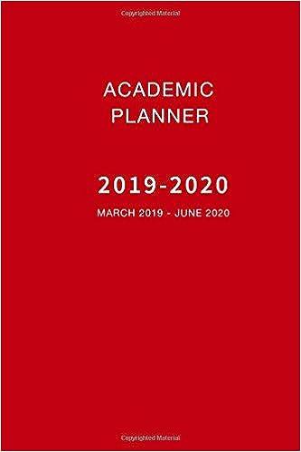 School Calendar For 2020-16 Amazon.com: Academic Planner 2019 2020 March 2019   June 2020: 16