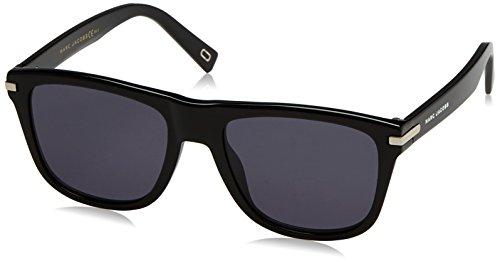 Marc Jacobs  Men's Marc 185/S Black With Gray/Blue Lens - Jacobs Glasses Optical Marc