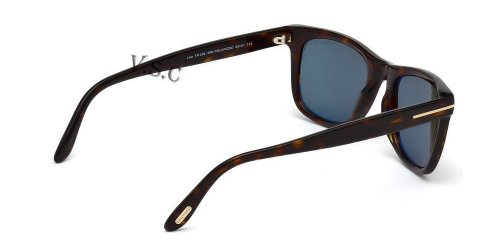 664689602933 - Tom Ford Leo 336 Wayfarer Leo  Havana Polarized carousel main 3