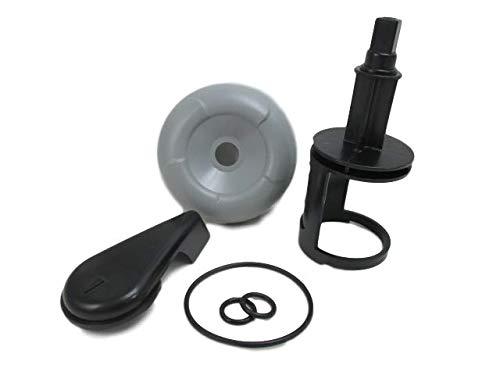 Master Spa Hot Tub Diverter Handle, Cap, Stem & O-Ring Kit 1999-2003 Down ()