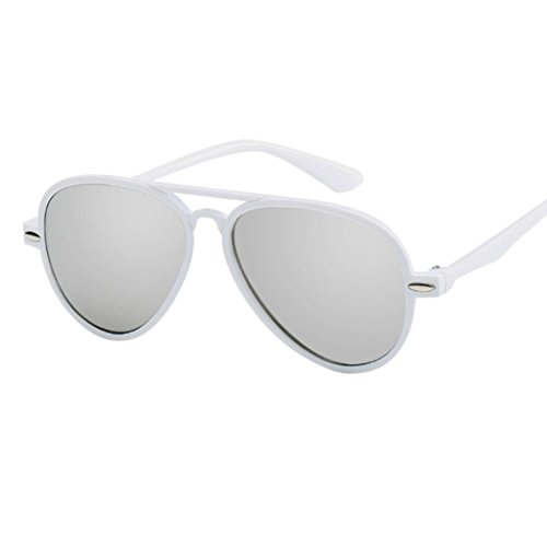 Limsea Hot Sale! Kids Retro Anti-UV Sunglasses Color Film Goggles New Cool Baby Boy Girls Glasses ()