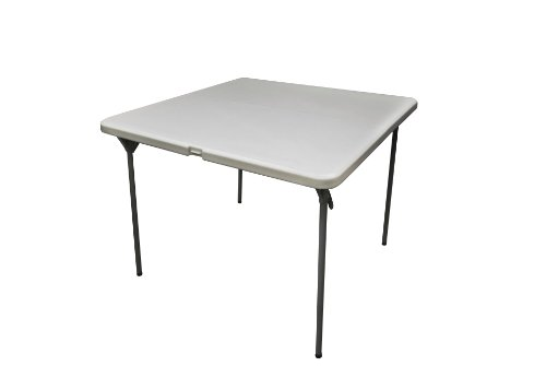 Coleman C11TM289 Square Blow Molded Plastic Folding Table, 36-Inch by Coleman