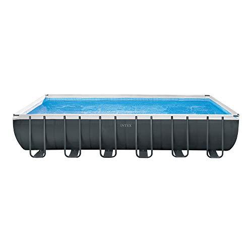 Intex 26368NP - Piscina elevada rectangular Ultra XTR Frame 732 x 366 x 132 cm con depuradora: Amazon.es: Jardín