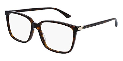 Gucci GG0019O Rectangular Eyeglasses 56mm