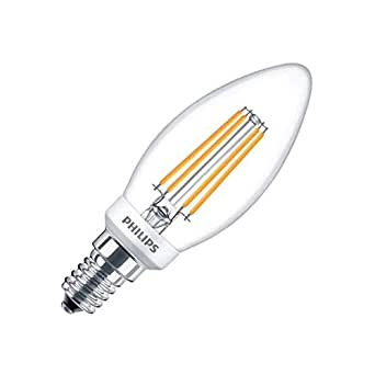 Bombilla LED E14 B35 Regulable Filamento Candle CLA 5W Blanco Cálido 2700K efectoLED