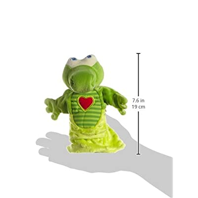 HABA Crocodile Glove Puppet (Hand Puppet): Toys & Games
