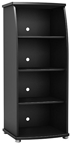 South Shore Furniture City Life Collection Bookcase, Pure Black