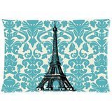 Teal Turquoise Damask Vintage French Flo - Damask Pillowcase Shopping Results