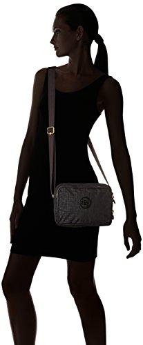 Pylon Silen A Borse Emb Tracolla Kipling Donna black Nero xw7qgPpP0