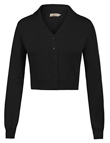 GRACE KARIN Sleeve Cardigan CLAF1015