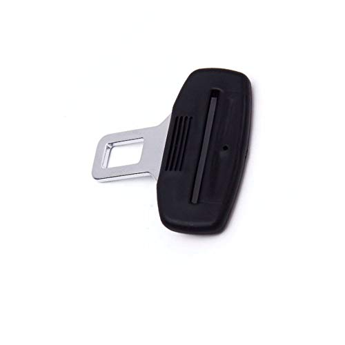 Safety Car Parts Plastic Car Safety Seat Belt Stopper Spacing Buckle Clip Retainer Seatbelt Stopbutton-Black