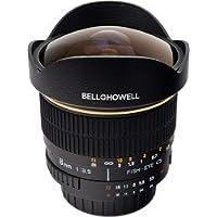Bell and Howell 8mm f/3.5 Aspherical Fisheye Lens for Nikon DSLR Cameras