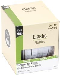 Non Roll Ribbed Elastic - 9