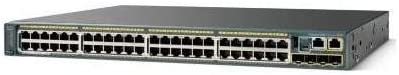 4 x SFP 48 x 10//100//1000Base-T Power Over Ethernet 48 Port 5 Slot Cisco Catalyst 2960S-48LPS-L Ethernet Switch 1 x Stacking Module Slot mini-GBIC