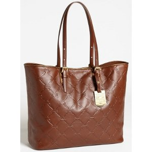 934a4cc0b9c0 Amazon.com  Longchamp Lm Cuir Large Tote Cognac Brown Bag Leather Handbag  Purse Logo Only 1 NEW  Shoes