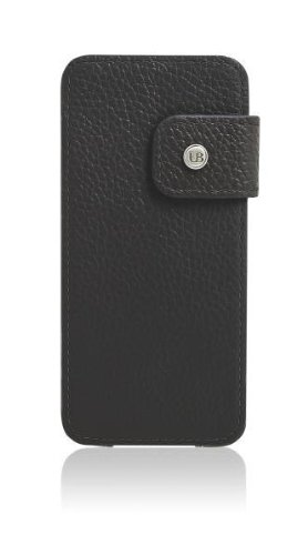 Umberto Bellini Firenze - Leather Portfolio Case for Samsung Galaxy SIII - Black (Black Leather Firenze)