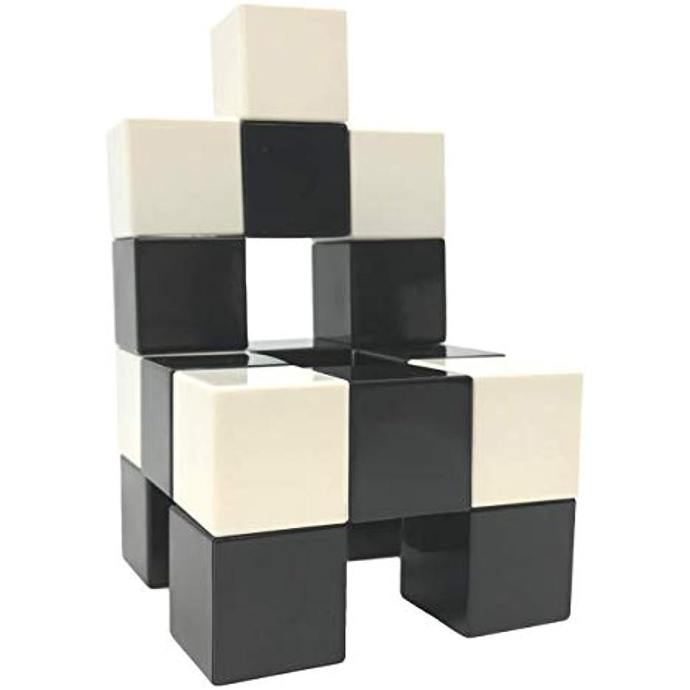 Magnetic Building Blocks 40 Pieces Set 40 Pcs Magnetic Cube Building Toys Black