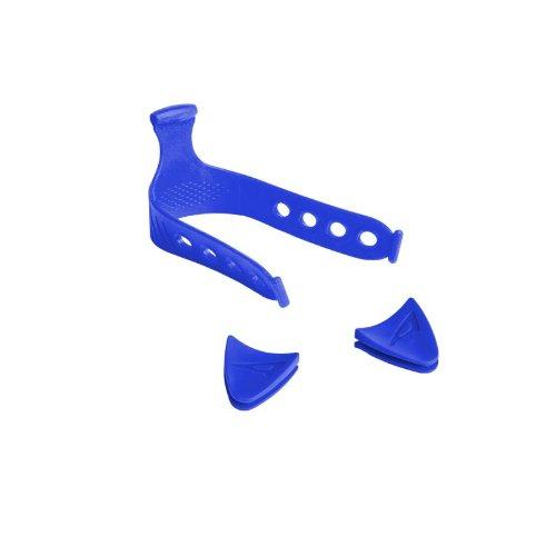 AERIS Accel Open Heel Fins Color Kit, Blue