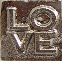 Deluxe Seal (LOVE (stacked) Deluxe Wax Seal Stamp)