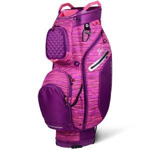 Sun Mountain 2019 Womens Diva Cart Bag - Plum-Tulip-Flurry