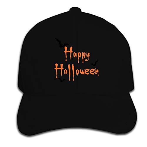 (BAOG Happy Halloween Dad Hat Baseball Cap Peaked Trucker Hats for Men)