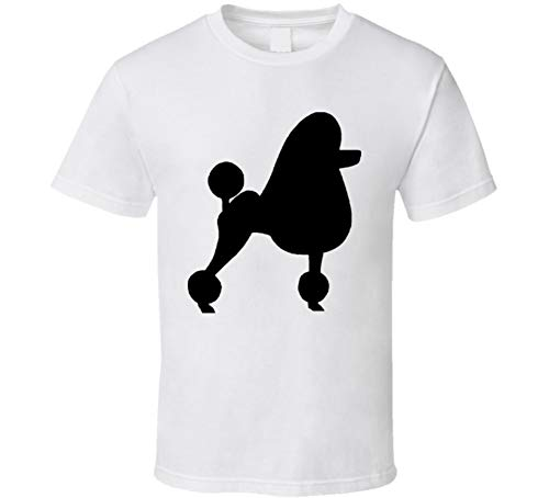 Standard Poodle Custom Dog Breed is My Homeboy T Shirt L White ()