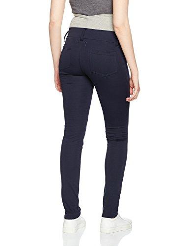 MAMALICIOUS Mlalba Jersey Pan, Pantalones Deportivos Premamá para Mujer Azul (Navy Blazer)