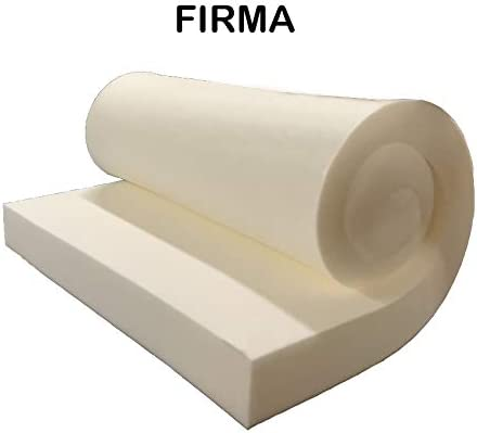 GoTo Foam 6 Height x 36 Width x 72 Length 44ILD Firm Upholstery Cushion Made in USA