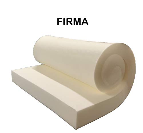 GoTo Foam 4'' Height x 24'' Width x 96'' Length 44ILD (Firm) Upholstery Cushion Made in USA by GoTo Foam