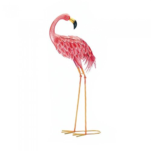 Zings & Thingz 57074224 Lovely Garden Flamingo Looking Back, Pink