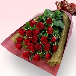 誕生日バラ 花キューピットの赤バラの花束 B06XS9N6P6