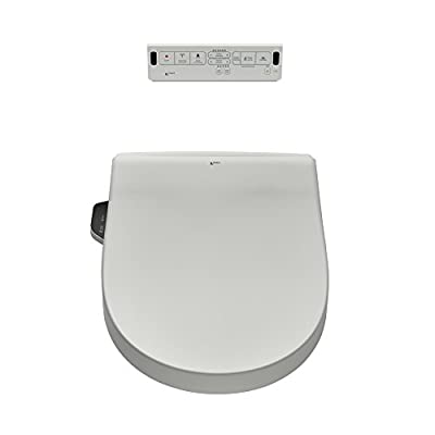 INAX 8012A70GRC-415 Heated Shower Toilet Bidet Seat with Remote Control + Dual Nozzle, White